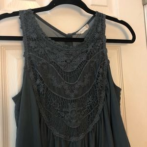 Like New Altar'd State Timeless Lace Tank